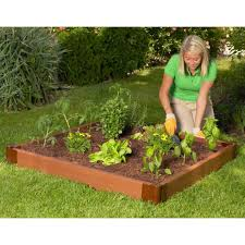 composite raised garden bed.  Bed Composite Raised Garden Bed  4u0027  Throughout S