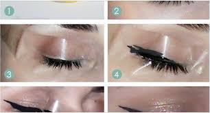 easy way to make cat eye makeup