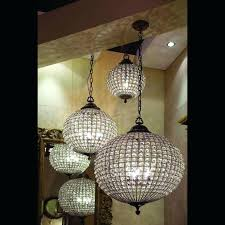 crystal globe chandelier cognac antique brass crystal ball chandelier 3 sizes pearl round globe crystal chandelier