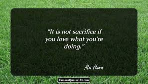 Sacrifice Quotes Famous Losing Surrendering Quotations Sayings Interesting Quotation About Love And Sacrifice
