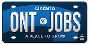 Plates For - Proclaim To Business' Ontario Truck 'open News