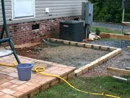 diy outdoor patio flooring concrete diy backyard flooring ideas