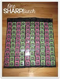 Diy Black Pocket Chart Freebie One Sharp Bunch