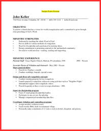 Youth Ministry Resume Resume For Study