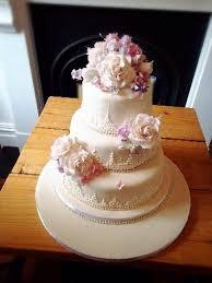 Wedding Cake Homemade Picture Homemade Wedding Cake From Granny