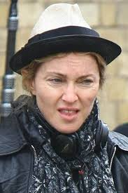 madonna no makeup not the greatest expression of her but she is still friggen awesome