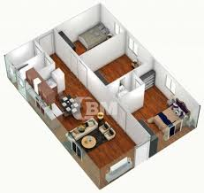 modern 2 bedroom house plans 3d images one floor design three apartment inspirations home in uganda also awesome for 2018