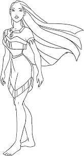 Small Picture Disney Princess Pocahontas Coloring Pages disney princess