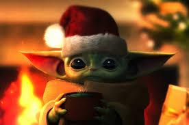 Baby Yoda Christmas Chromebook Pixel HD ...