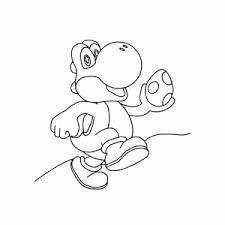 Kleurplaat Nintendo Switch Supermario Odyssey