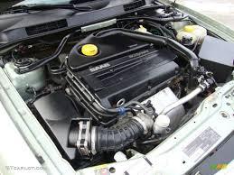 2001 Saab 9-3 Sedan 2.0 Liter Turbocharged DOHC 16-Valve 4 ...