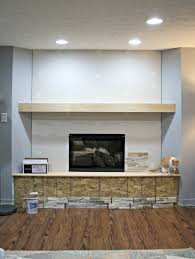 diy electric fireplace wall