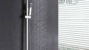 Homelody Thermostat Duschsystem Regendusche Eckig