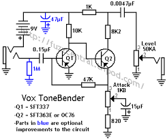 vox tonebender electronics explore guitar electronics wiring guitar wiring and more vox tonebender