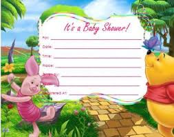 Baby Shower Invitations That Can Be Edited Winnie The Pooh Baby Shower Invitations Templates 14 Heart Warming