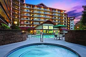 the swimming pool at or near holiday inn club vacations smoky mounn resort