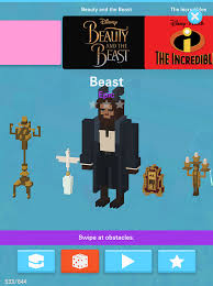 Small Picture Disney apps Beauty and the Beast updates for Crossy Road Emoji