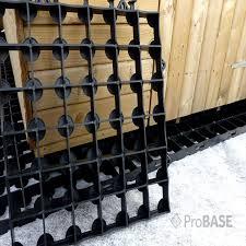 probase garden building shed base system