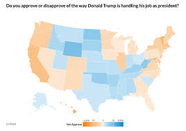 Lets Look At Trumps 50 State Approval Ratings By Age Sex