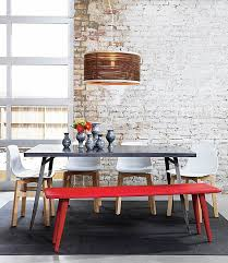 Vase Grouping Centerpiece For Dining Table Decor And Red Seating