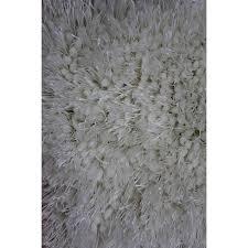 5 x 7 medium white area rug viscose