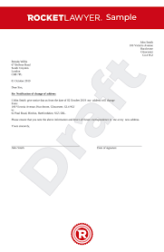 Change Of Address Letter Uk Template Make Yours For Free