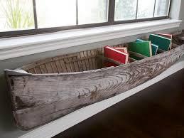 diy boat bookcase