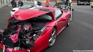 Ferrari Crash Compilation 2017 Hd Youtube