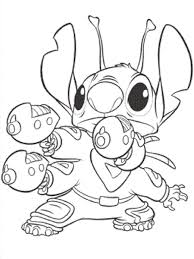 Lilo Stitch Coloring Pages Learn To Coloring