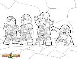New LEGO Ninjago Coloring Pages (Page 1) - Line.17QQ.com