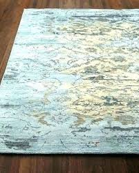 jute rug x aquamarine hand knotted wool chenille pottery barn reviews ru