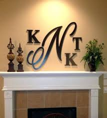 wood monogram wall decor wooden interlocking monogram wall decor wooden monogram wall decor initial letter wall decor 1000 ideas about large wooden letters on pinterest presents for best photos 618x683