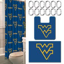 Sports Bathroom Accessories Wvu Bathroom Decor