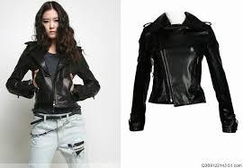 aliexpress com free whole retail leather jacket women women s jacket slim fit coat motorcycle jacket black