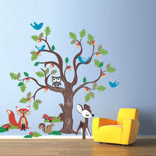 Small Picture Wall Decoration Oak Tree Wall Decal Lovely Home Decoration and