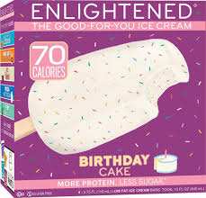 Birthday Cake Ice Cream Bars Enlightened Enlightened Ice Cream