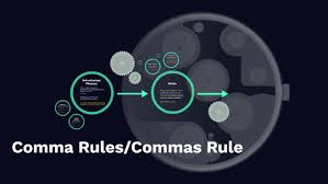 Comma Rules/Commas Rule by Autumn Gregory