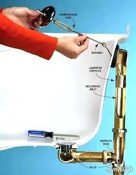 bathtub draining slowly fix bathtub drain slow bathtub drain how to fix bathtub drain stopper bathtub