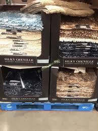 costco 1196719 carpet art deco chenille bath mat
