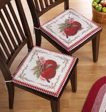 Country Style Kitchen Chair Pads Country Kitchen Chair Cushions