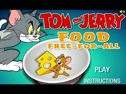 tom and jerry food free for all cartoon network games