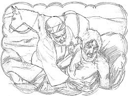 Good Samaritan Bible Coloring Pages With Collection Of The Download