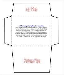 Sample A2 Envelope Template 7 Documents In Word Pdf