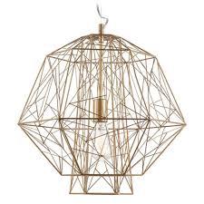 cage pendant lighting. Nuevo Lighting Zeus Gold Cage Pendant Light HGVF404