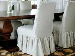 cal linen parson chair slipcover think a embroidered monogram would be crazy fun