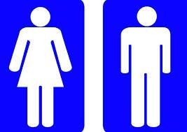 Male Female Bathroom Symbols Simple Inspiration