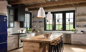 one of the biggest 2018 countertop trends is mixing materials image north fork builders of montana inc