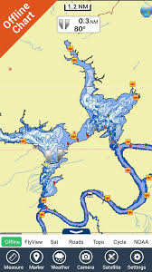 Free Fishing Charts Lake Powell Gps Fishing Charts App For Iphone Free