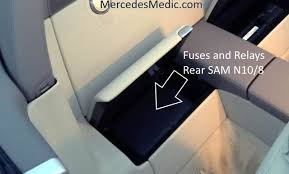 Mercedes R230 Fuse Chart Sl Fuse Chart Location Diagram Allocation 2002 2012 R230