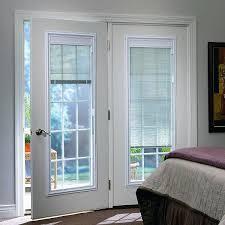 french patio doors with built in blinds door blinds and shades andersen patio french doors with